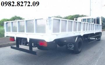 Giá xe tải hino 5 tấn thùng lửng FC9JLTC