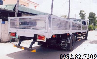 Giá xe tải Hino 8 tấn thùng lửng FG8JT7A dài 8,6m