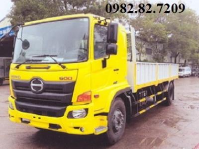 Giá xe tải hino 8 tấn thùng lửng dài 7,3m