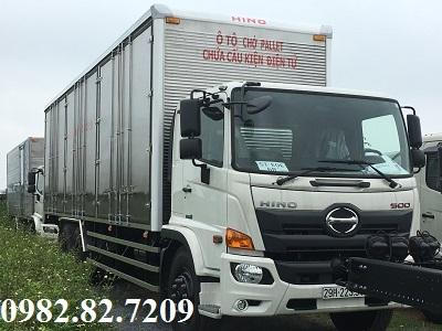 Giá xe tải hino 15 tấn thùng cao chở pallet 9,4m