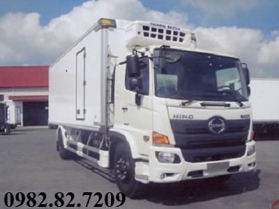 Giá xe tải Hino 8 tấn thùng lạnh FG8JP7A 7,3m