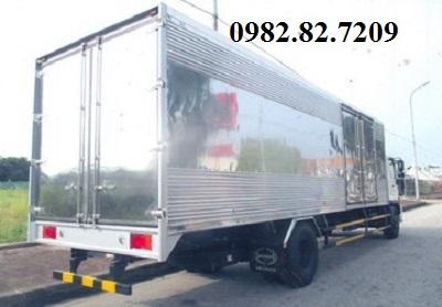 Giá xe tải hino 8 tấn thùng kín 8,9m FG8JT7A EURO 4